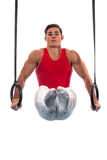 Male Gymnast Royalty Free Stock Photo