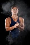 Male Gymnast Stock Image