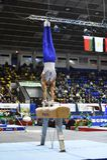 Men Gymnastics Pommel Horse Stock Illustration
