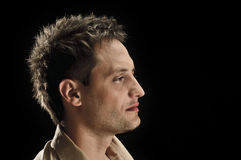 Male half portrait Stock Photos