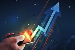 Finance and success concept Royalty Free Stock Image