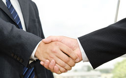 Male handshake Stock Image