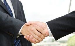 Male handshake Stock Image