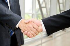 Male handshake Royalty Free Stock Photos