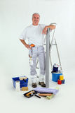 Male handyman stood Royalty Free Stock Photos