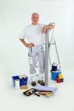 Male handyman stood Royalty Free Stock Photos