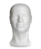 Male head of styrofoam Stock Photos