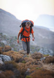 Male hiker Royalty Free Stock Photography