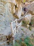 Male hiker trekking Royalty Free Stock Image
