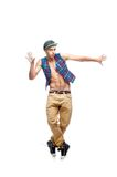 Male hip-hop dancer Stock Photo