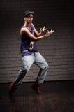 Male hip-hop dancer Stock Photo