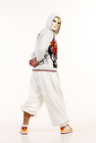 Male hip hop dancer Royalty Free Stock Photography