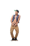 Male hip-hop dancer Royalty Free Stock Photos