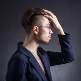 Male hipster Stock Photography