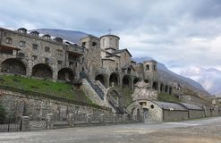 Male Holy Dormition Monastery in the village Alanian Hidikus. No Royalty Free Stock Photography