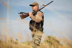 Male hunter Stock Image