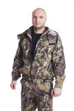 Male hunter Royalty Free Stock Image