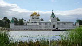 Male Ipatievsky Monastery stock footage