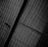 Male jacket closeup Royalty Free Stock Photos