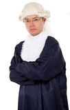 Male judge Royalty Free Stock Image