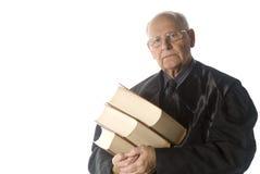Male judge portrait Stock Photos
