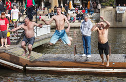 Male Jumpers  Virginia Polar Dip Stock Images