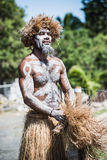 Male Kanak dancer Royalty Free Stock Images