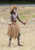 Male Kanak dancer-2 Stock Photos