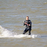 Male kitesurfer Royalty Free Stock Images