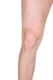 Male knee Royalty Free Stock Images