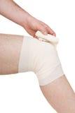 Male knee Stock Image
