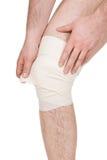 Male knee Stock Photo