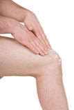 Male knee Royalty Free Stock Image