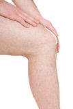 Male knee Royalty Free Stock Photos