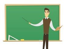 male lärare Fotografering för Bildbyråer