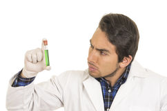 Male lab researcher technician scientist doctor Royalty Free Stock Image