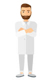 Male laboratory assistant Stock Photo