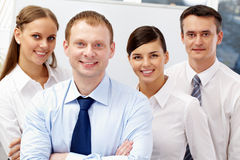Male leader Royalty Free Stock Photos