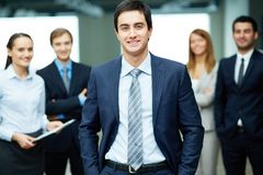 Male leader Royalty Free Stock Photo