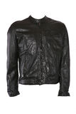 Male leather jacket Stock Photography