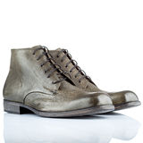 Male leather shoes Stock Photography
