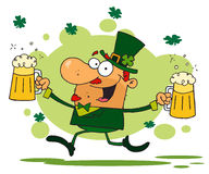 Male leprechaun Royalty Free Stock Images