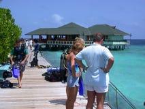 MALE, MALDIVES - AUGUST 30, 2003: Maldives. Stock Images