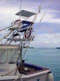 MALE, MALDIVES - AUGUST 30, 2003: Sailing close-up. Royalty Free Stock Photo