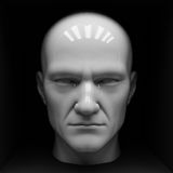 Male mannequin head Royalty Free Stock Photo