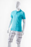 Male mannequin wearing summer clothes. Stock Photography