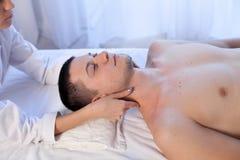 Male masseur doing Massage Spa health. 1 Stock Photo