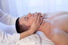 Male masseur doing Massage Spa health. 1 Stock Photography