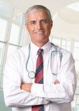 male medicinskt professional stetoskop Arkivbilder