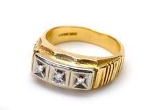 Male (mens) wedding ring Royalty Free Stock Photo